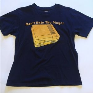 "Nintendo ""Don't Hate The Player"" Graphic T-Shirt"